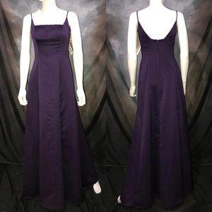 New MORI LEE by Madeline Gardner Purple Prom Dress